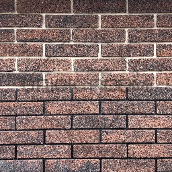 """Облицовочный кирпич Brick Premium коллекция """"Клинкер"""" мирра"""