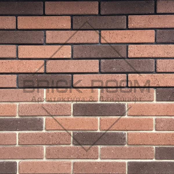 """Облицовочный кирпич Brick Premium коллекция """"Терракот"""" микс"""