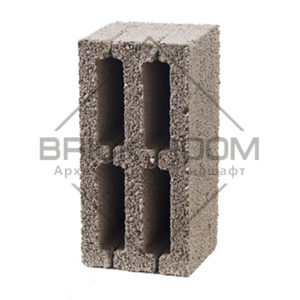 Керамзитовый блок 4-х пустотный