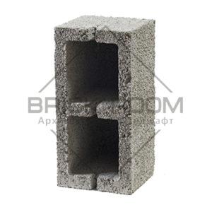 Керамзитовый блок 2-х пустотный