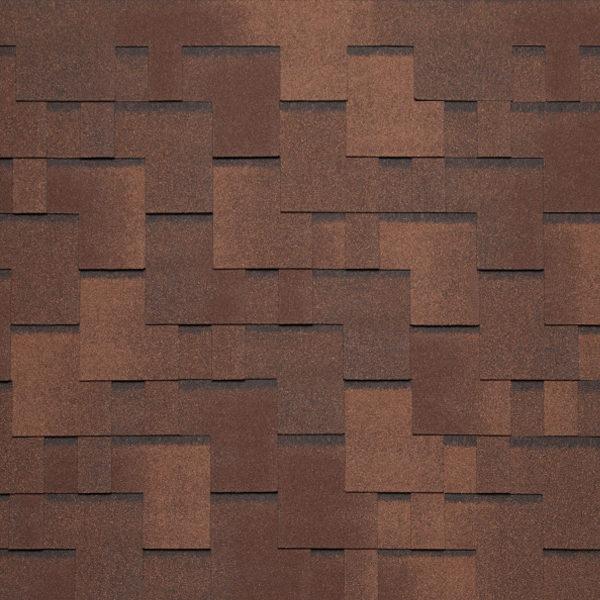 АЛЬПИН коричневый с отливом