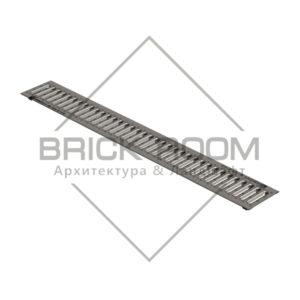 Решетка водоприемная РВ -10.13,6.100-штампованная нержавеющая сталь